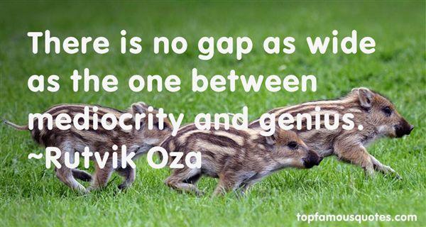 Rutvik Oza Quotes