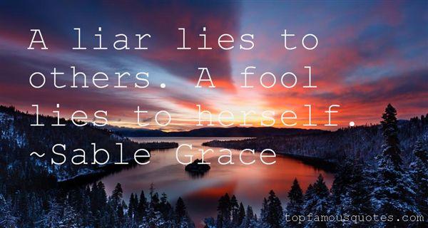 Sable Grace Quotes