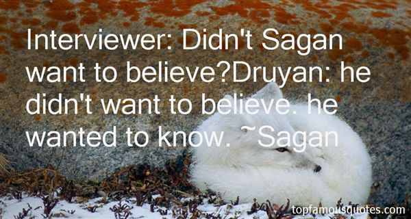 Sagan Quotes