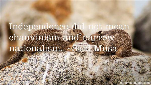 Said Musa Quotes