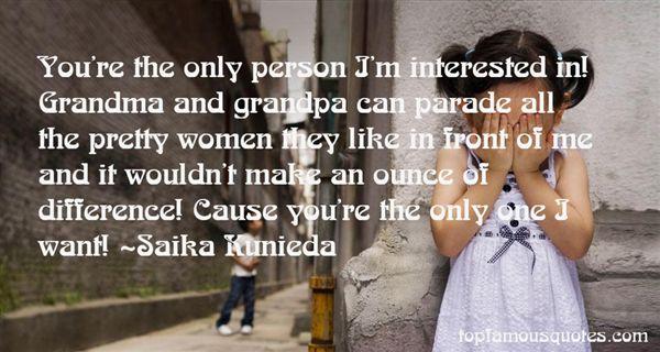 Saika Kunieda Quotes