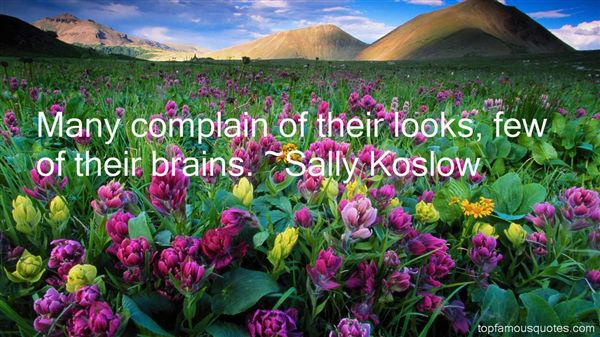 Sally Koslow Quotes