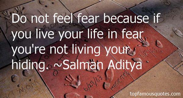 Salman Aditya Quotes