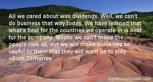 Sam Zemurray Quotes