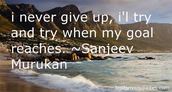 Sanjeev Murukan Quotes