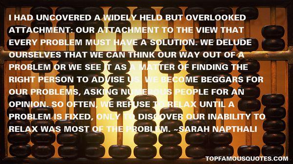 Sarah Napthali Quotes