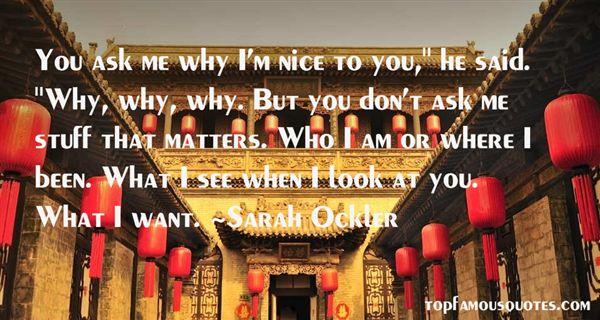 Sarah Ockler Quotes