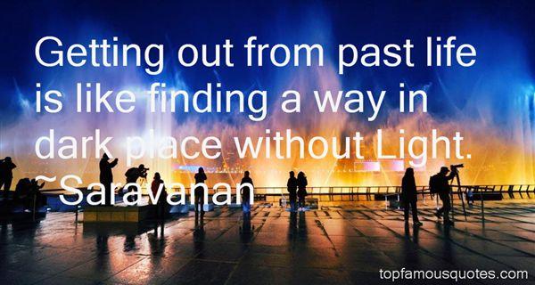 Saravanan Quotes