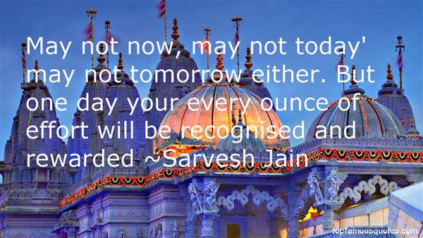 Sarvesh Jain Quotes
