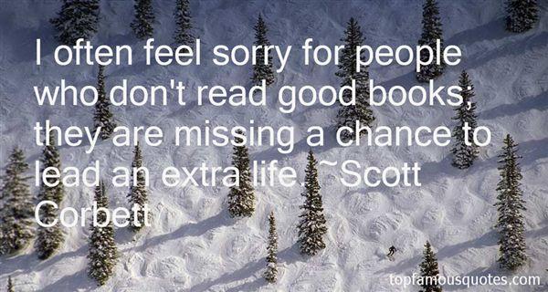 Scott Corbett Quotes