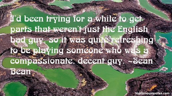 Sean Bean Quotes