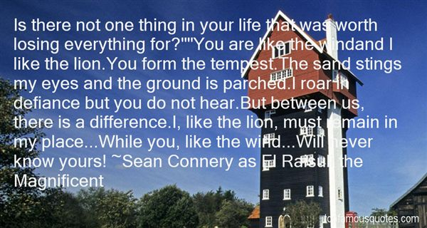 Sean Connery As El Raisuli The Magnificent Quotes