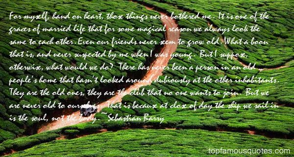 Sebastian Barry Quotes