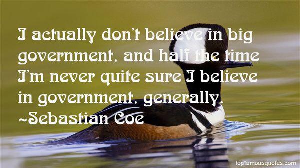 Sebastian Coe Quotes