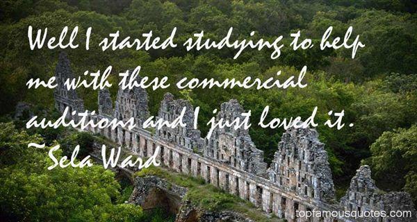 Sela Ward Quotes