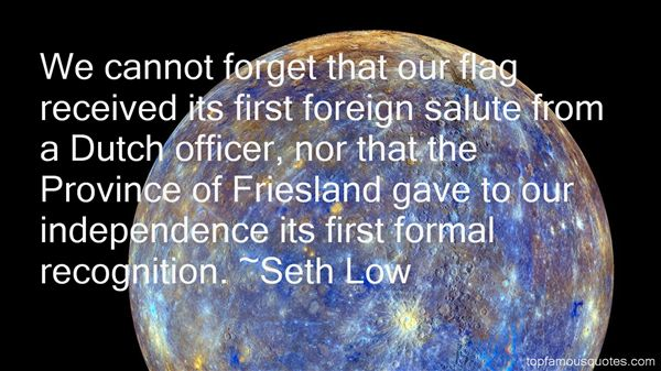 Seth Low Quotes