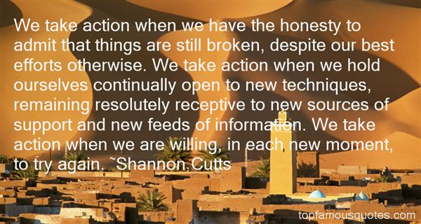 Shannon Cutts Quotes