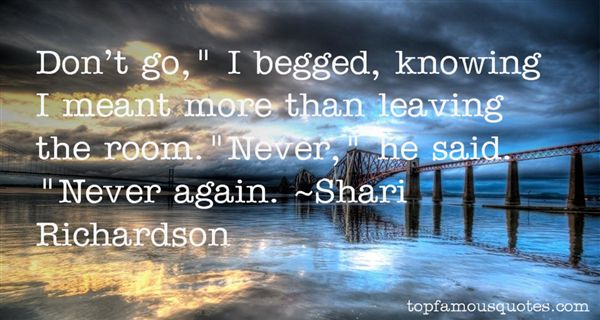 Shari Richardson Quotes
