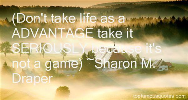 Sharon M. Draper Quotes