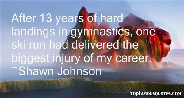 Shawn Johnson Quotes