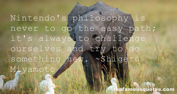 Shigeru Miyamoto Quotes