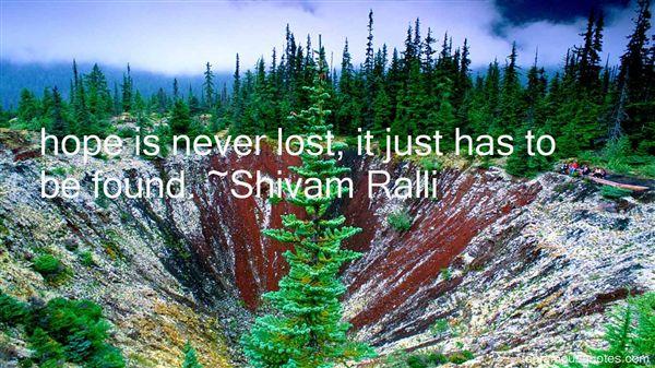 Shivam Ralli Quotes