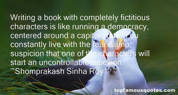 Shomprakash Sinha Roy Quotes