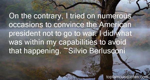 Silvio Berlusconi Quotes