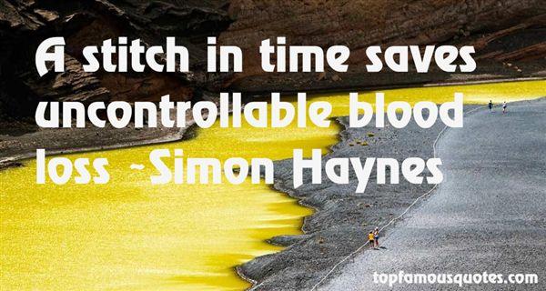 Simon Haynes Quotes
