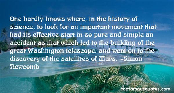 Simon Newcomb Quotes