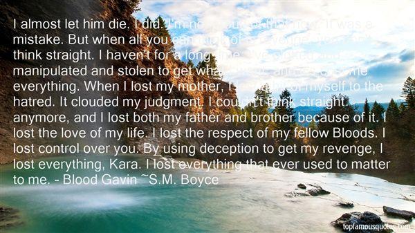 S.M. Boyce Quotes