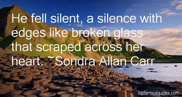 Sondra Allan Carr Quotes