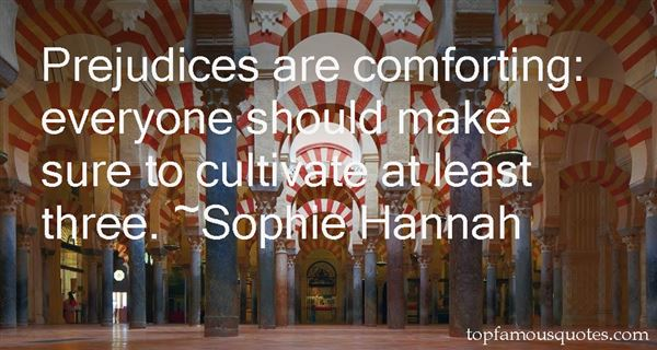 Sophie Hannah Quotes