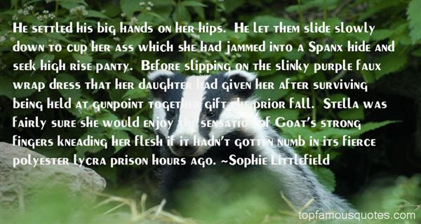 Sophie Littlefield Quotes
