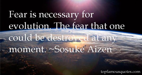 Sosuke Aizen Quotes