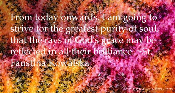 St. Faustina Kowalska Quotes