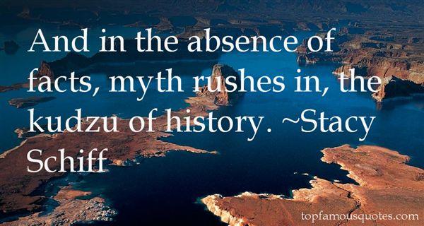 Stacy Schiff Quotes