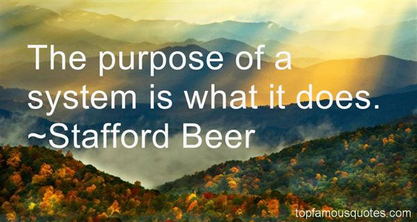 Stafford Beer Quotes