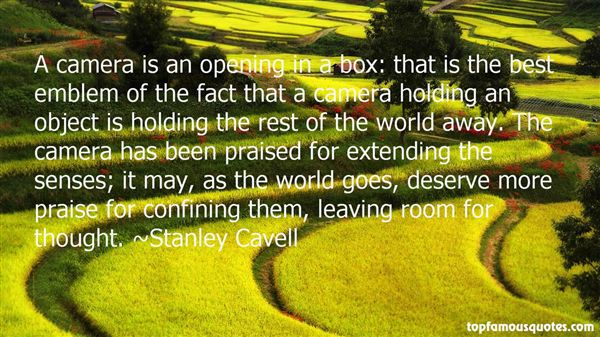 Stanley Cavell Quotes