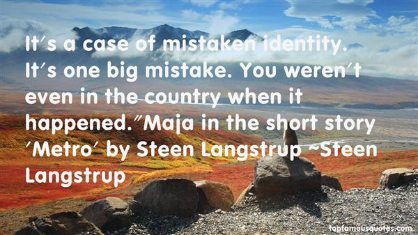Steen Langstrup Quotes