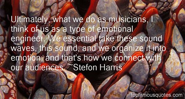 Stefon Harris Quotes