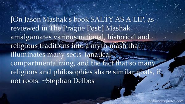 Stephan Delbos Quotes