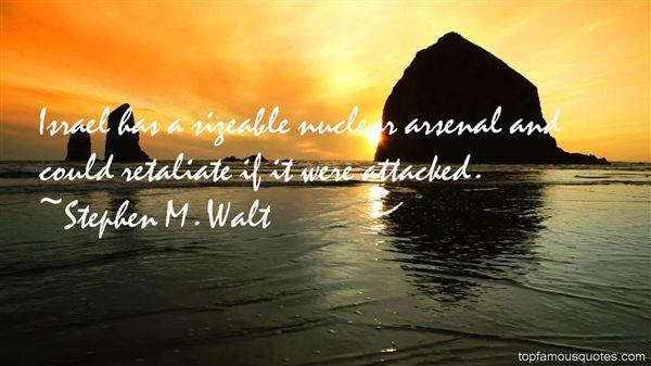 Stephen M. Walt Quotes