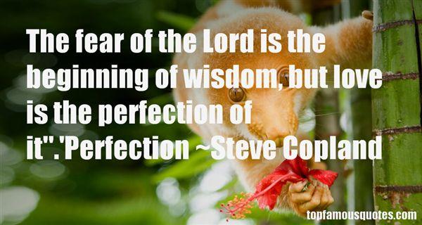 Steve Copland Quotes