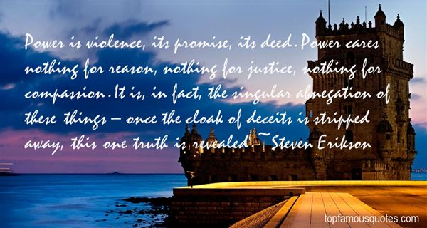 Steven Erikson Quotes