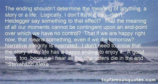 Stevenson Alexa Quotes