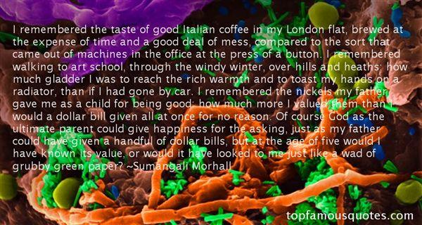 Sumangali Morhall Quotes