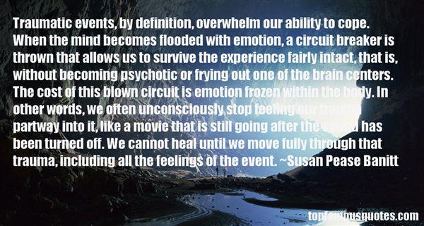 Susan Pease Banitt Quotes