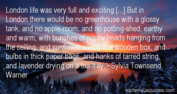 Sylvia Townsend Warner Quotes