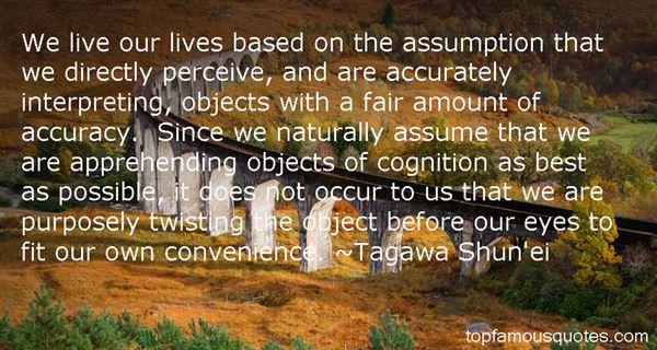 Tagawa Shun'ei Quotes